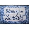Toponimia - Familjen Lindahl